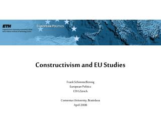 Constructivism and EU Studies