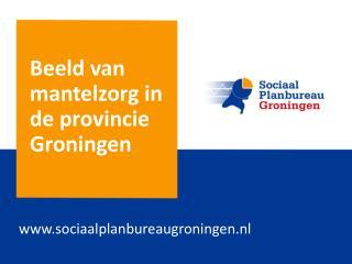 Beeld  van  mantelzorg  in de  provincie  Groningen