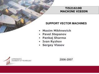 Ti5216100  MACHINE VISION