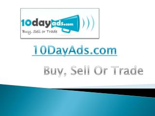 Free Classified Ads | Free Advertising Online