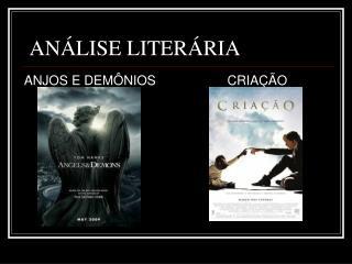 ANÁLISE LITERÁRIA