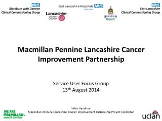 Macmillan Pennine Lancashire Cancer Improvement Partnership