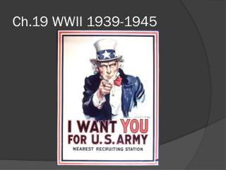 Ch.19 WWII 1939-1945