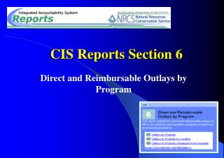 CIS Reports Section 6