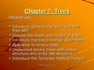 Chapter 7: Trees
