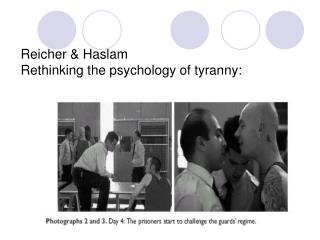 Reicher & Haslam Rethinking the psychology of tyranny: