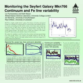 Monitoring the Seyfert Galaxy Mkn766 Continuum and Fe line variability