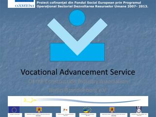 Vocational Advancement Service