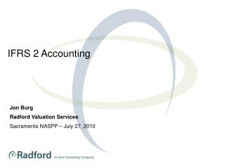 IFRS 2 Accounting