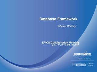 Database Framework