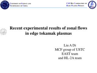 Recent experimental results of zonal flows in edge tokamak plasmas