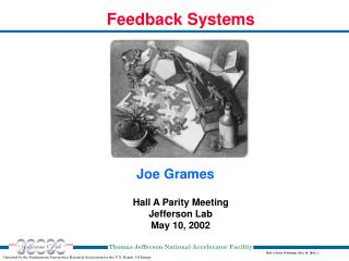 Hall A Parity Meeting Jefferson Lab May 10, 2002