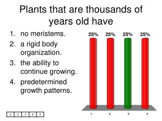 Plants that are thousands of years old have