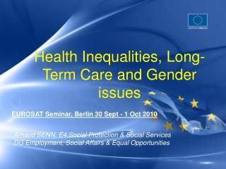 EUROSAT Seminar, Berlin 30 Sept - 1 Oct 2010