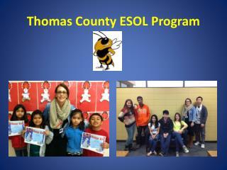 Thomas County ESOL Program