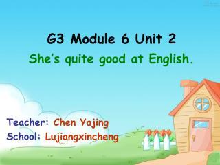 G3 Module 6 Unit 2