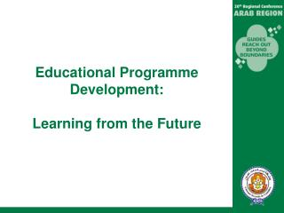 Educational Programme Development: Learning from the Future
