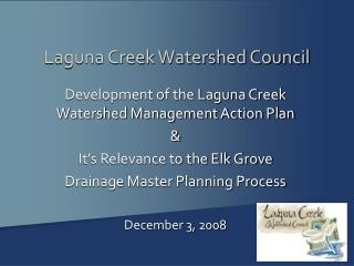 Laguna Creek Watershed Council