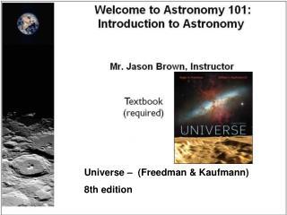 Universe –  (Freedman & Kaufmann)  8th edition