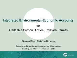Integrated Environmental-Economic Accounts