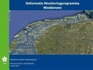 Deformatie Monitoringprogramma Waddenzee