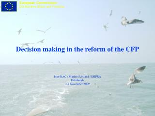 New governance in the CFP - reversing the burden of proof in fisheries management