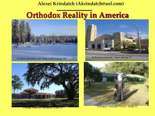 Orthodox Reality in America