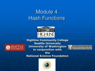Module 4 Hash Functions