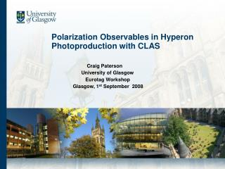 Polarization Observables in Hyperon       Photoproduction with CLAS