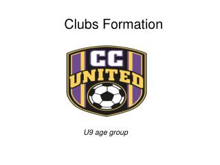 Clubs Formation