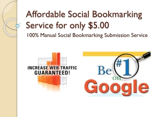 Affordable Social Bookmarking Service | Manual Bookmarking