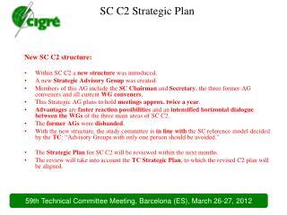 SC C2 Strategic Plan