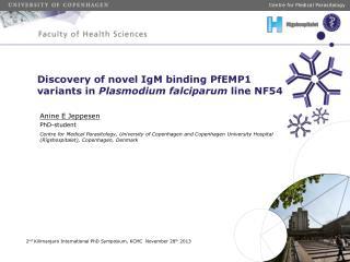 Discovery of novel IgM binding PfEMP1 variants in  Plasmodium falciparum  line NF54
