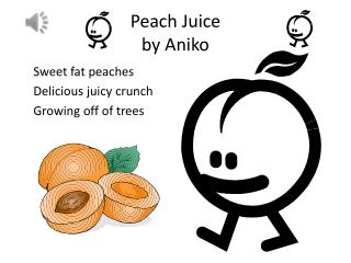 Peach Juice  by  Aniko