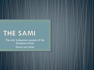 THE SAMI