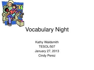 Vocabulary Night