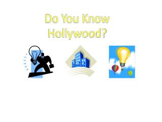 Do You Know Hollywood?