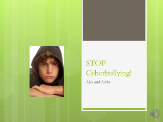 STOP  Cyberbullying !