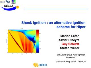 Shock Ignition : an alternative ignition scheme for Hiper
