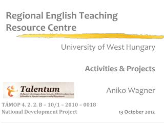 Regional English Teaching  Resource Centre