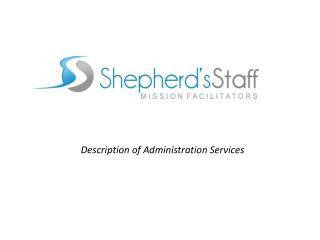 Description of Administration Services