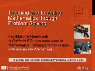 Teaching and Learning Mathematics through Problem Solving