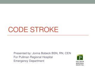 Code Stroke