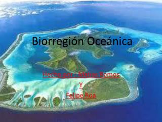 Biorregión Oceánica