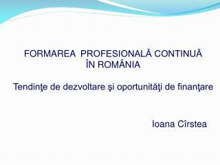 Ioana Cîrstea