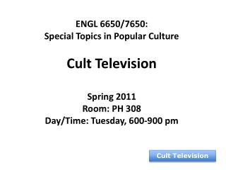 Cult Television