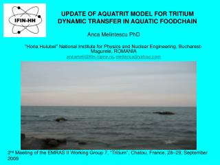UPDATE OF AQUATRIT MODEL FOR TRITIUM DYNAMIC TRANSFER IN AQUATIC FOODCHAIN
