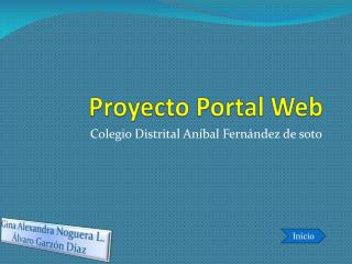 Proyecto Portal Web
