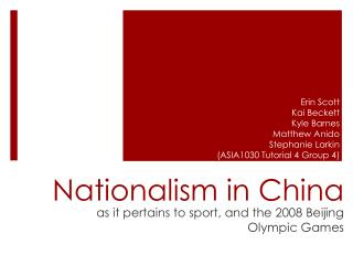 Nationalism in China