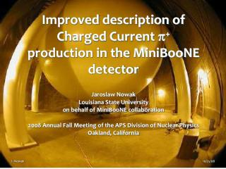 Improved description of Charged Current  p +  production in the MiniBooNE detector